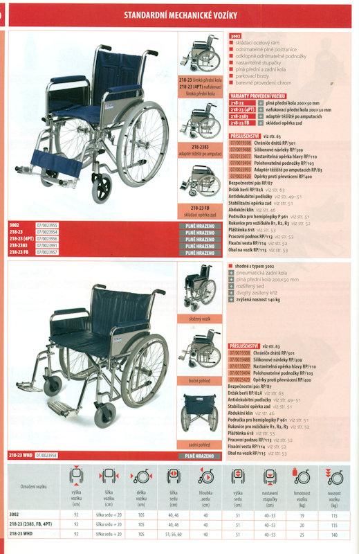 Vozíky a lůžka - mechanické vozíky. Hrazeno ZP. ©2018 Medica Kladno ... db0b9f437b